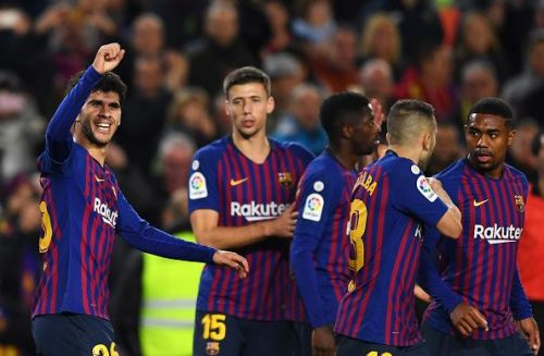 Aleña sealed Barcelona's win with a beautiful chip