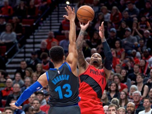 Portland Trail Blazers held off the Dallas Mavericks in overtime