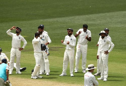 R Ashwin puts India back in the game in Adelaide