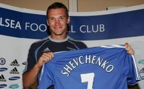 Shevchenko may be remembered fondly back home in Ukraine, but for Chelsea fans, he'll always be regarded a flop.