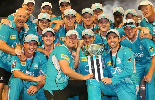 Brisbane Heat won the Big Bash League in 2012-13.