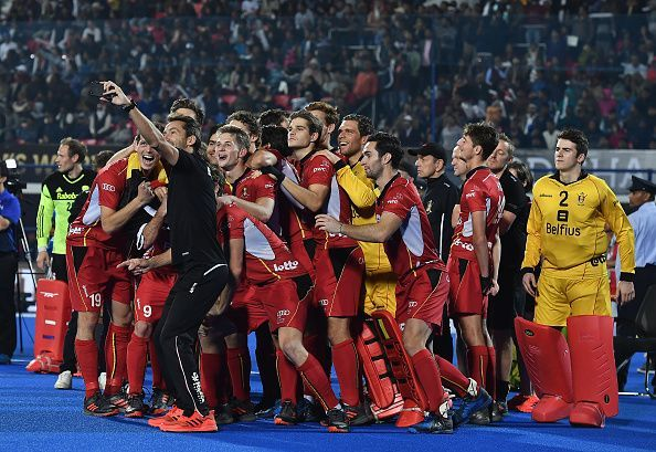 Belgium clinched their maiden World Cup title