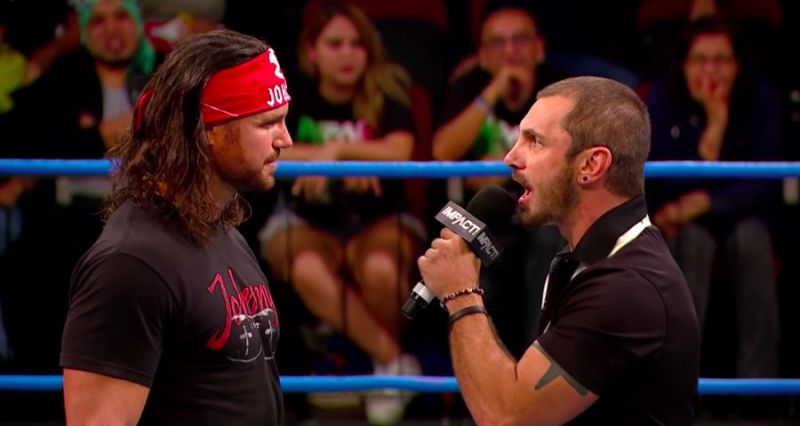 Impact and Aries battled it out at Bound For Glory