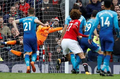 Fellaini scored the winning goal when these two sides last met at Old Trafford
