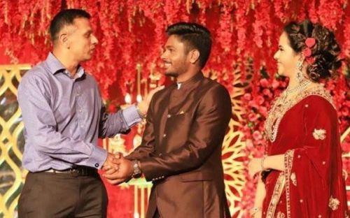 Rahul Dravid, Sanju Samson & Charulatha