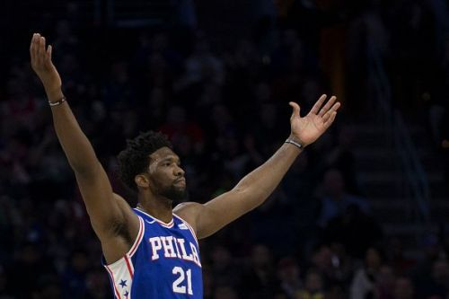 The Philadelphia 76ers had everything working to win this game