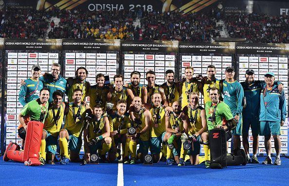 England v Australia - FIH Men