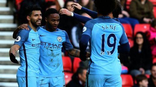 Aguero, Sterling and Sane are Premier League's deadliest trio