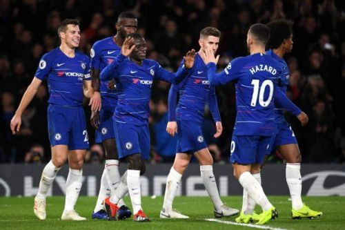 Chelsea handed the visitors a stunning 2-0 defeat at Stamford Bridge