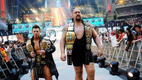The Miz held 3 title belts when he entered at WrestleMania 26.