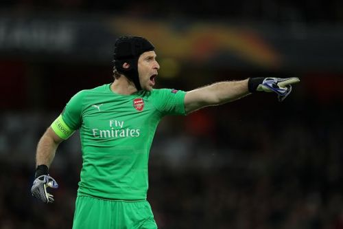 Cech has lost his starting place to Leno