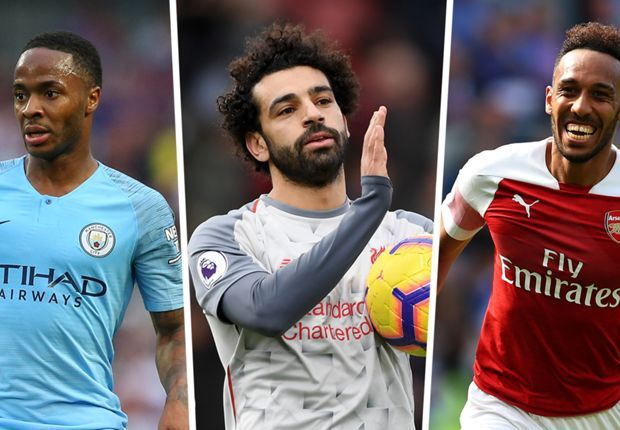 Sterling and Aubameyang also feature as prime global talent in the top six Premier League clubs