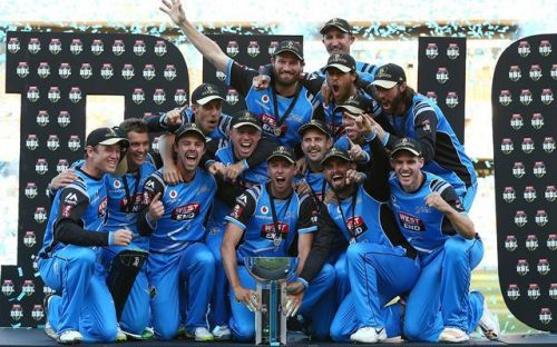 Adelaide Strikers are the defending Big Bash League champions.