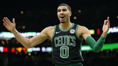 Jayson Tatum went 1-for-5 from distance