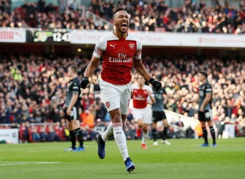 Aubameyang was brilliant against Burnley