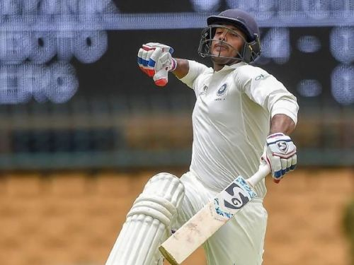 Mayank Agarwal would be dying to count upon this opportunity