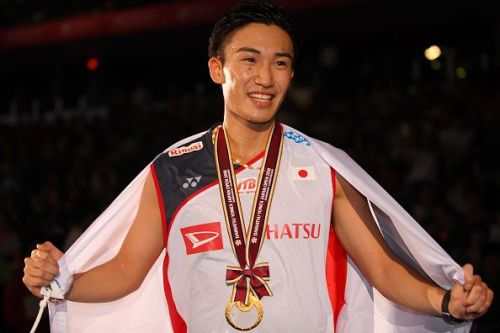 Kento Momota was unquestionably the best player in men's singles game this year