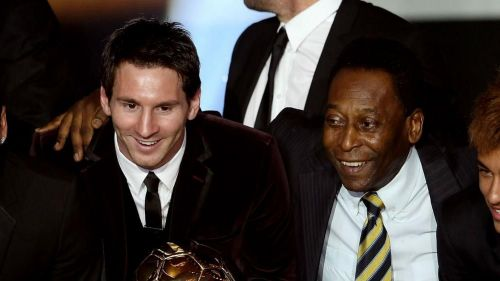 Pele does not rate Messi as the greatest player of all time