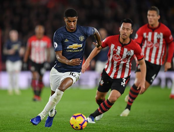 Rashford created two pivotal assists to help claw back a point for United, who started slowly