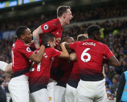 Man United defeated Cardiff City 4-1 on Saturday
