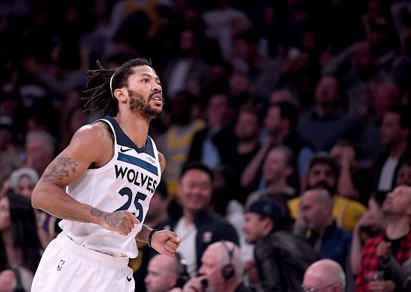 7cae7d2e134a Derrick Rose is among the NBA player s who have an outside chance of making  this year s