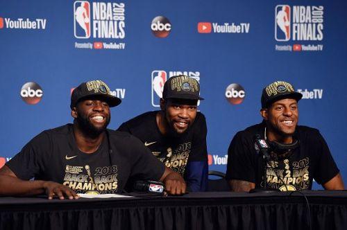Last season, Iguodala and the Warriors won a third NBA Championship in four years