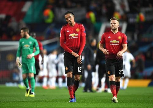 Manchester United's defence has been poor