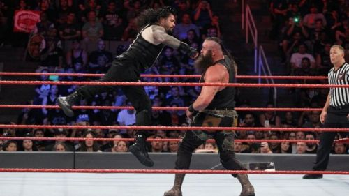 Roman Reigns' signature move is the Superman Punch