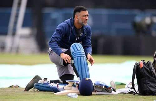MS Dhoni returned to the T20 squad to face New Zealand