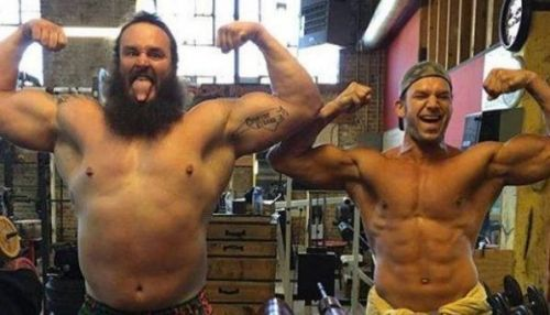 Braun Strowman and Fandango