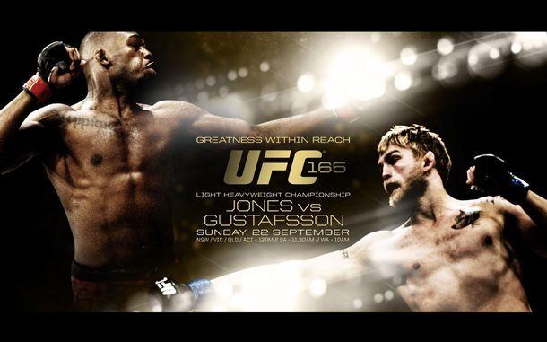 Jon Jones and Alexander Gustafsson headlined UFC 165