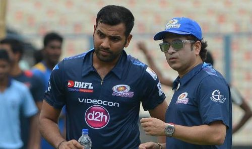 Image result for rohit sharma and sachin