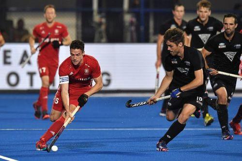 England v New Zealand - FIH Men's Hockey World Cup
