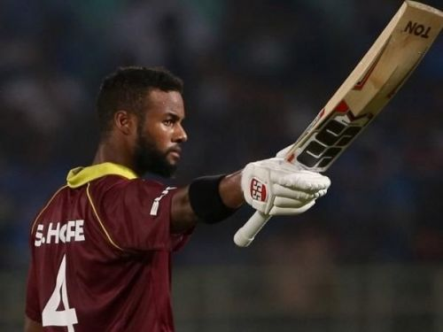 Shai Hope was Player of the Series for his two brilliant centuries.