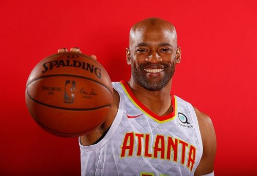 Vince Carter signed a one-year veteran minimum deal with the Atlanta Hawks