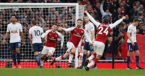 Arsenal won this fixture 2-0 in 17/18