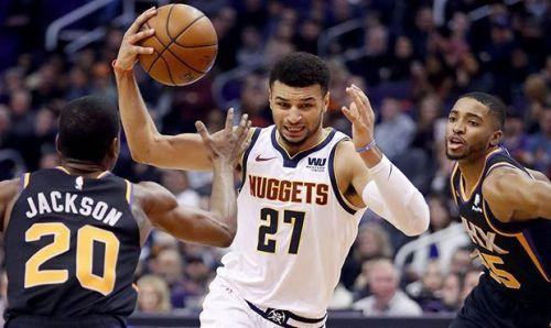 Jamal Murray against the Phoenix Suns