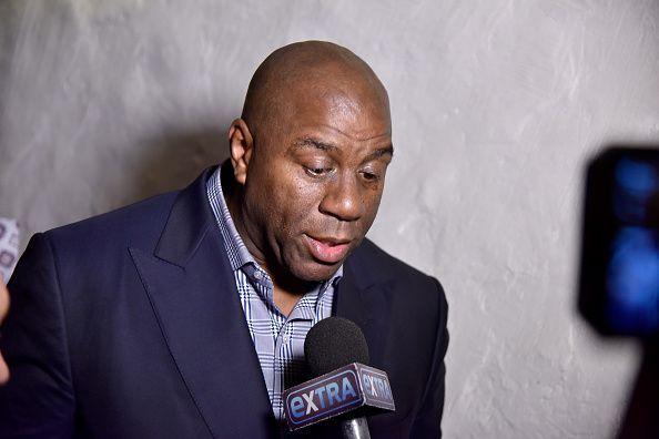 DuJour Media's Jason Binn And NBA Legend Earvin 'Magic' Johnson Celebrate Best-Selling Author Of 'Aiming High' Darren Prince