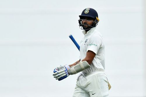 Murali Vijay scored 29 runs from both innings combined at Adelaide