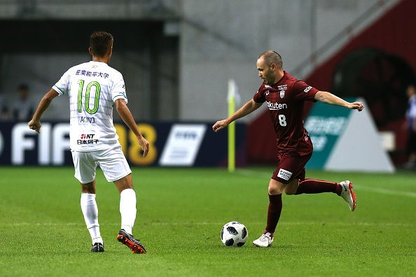 Andres Iniesta - Currently plying his trade in J-League, Japan
