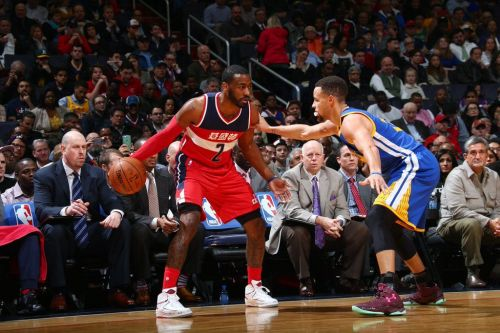 Wall's 41 points were not enough to get the win against the Golden State Warriors