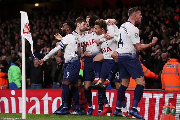 Arsenal outplayed Tottenham in most aspects, except for being clinical with their chances, as Tottenham didn