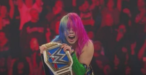 Asuka won the SmackDown LIVE women's championship in an outstanding fight