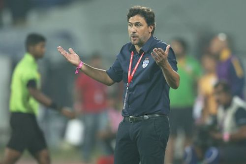 Bengaluru FC coach Carles Cuadrat was satisfied with a 1-1 draw against Mumbai City [Image: ISL]