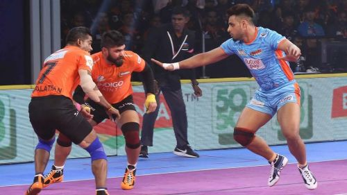 Maninder Singh was the top raider for the Bengal Warriors