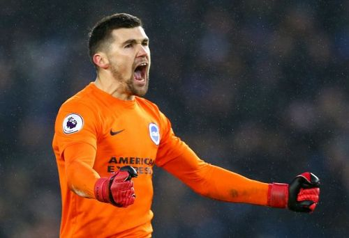 Mathew Ryan who plies his trade with Brighton and Hove Albion