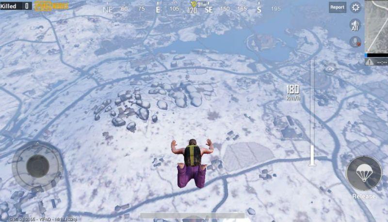 PUBG SNOW MAP VIKENDI