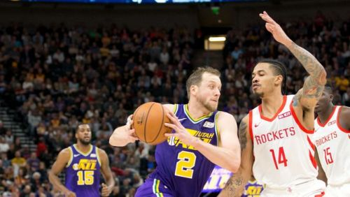 The Utah Jazz defeated the Houston Rockets, behind a strong performance from Joe Ingles
