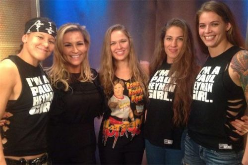 The Four Horsewomen of MMA