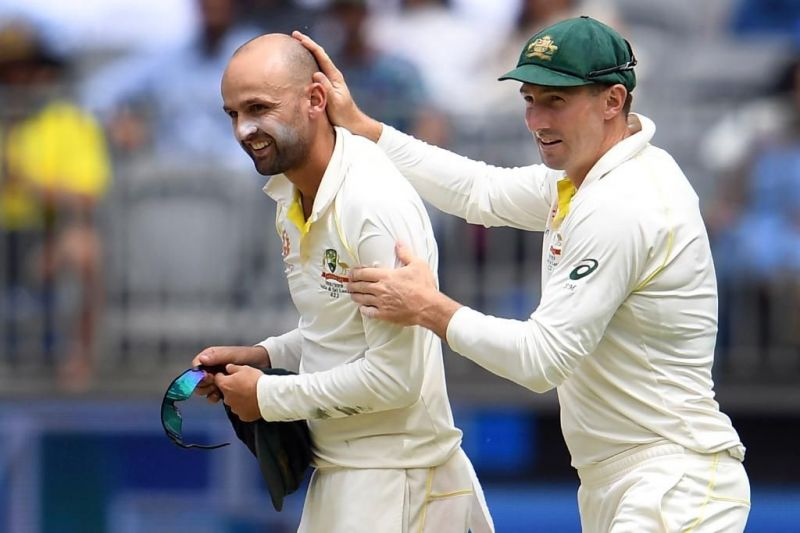 Lyon bagged another fifer against India